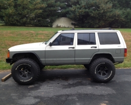 1996 Jeep Cherokee Build