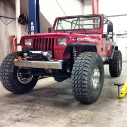 Jeep Wrangler YJ Build