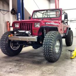 Jeep Wrangler YJ Build