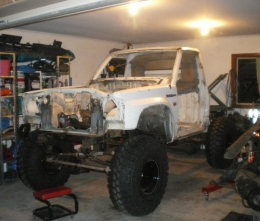 Nissan Patrol MQ SWB UTE Build by Troyboy